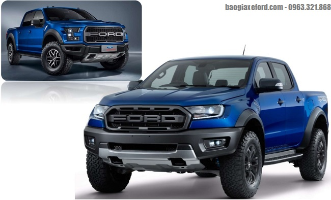 Ford Ranger Raptor moi