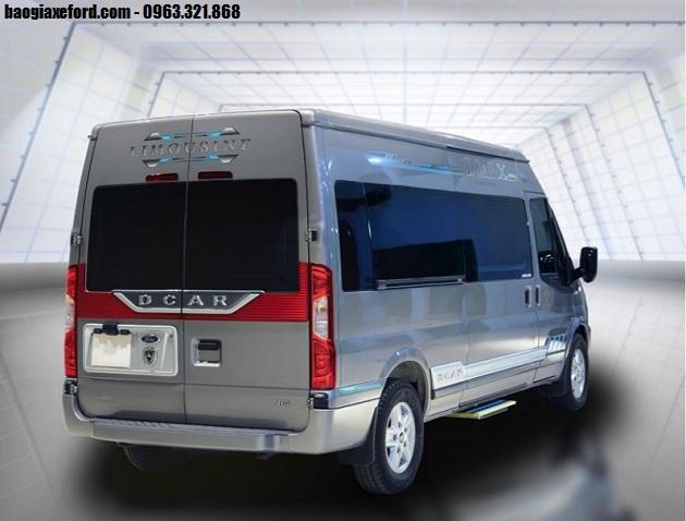 Ford Transit Dcar Limousine – Có 03 phiên bản