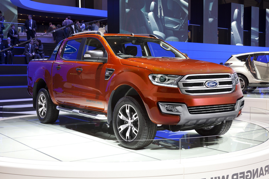 Ford Ranger Wildtrak Live in Geneva 2011