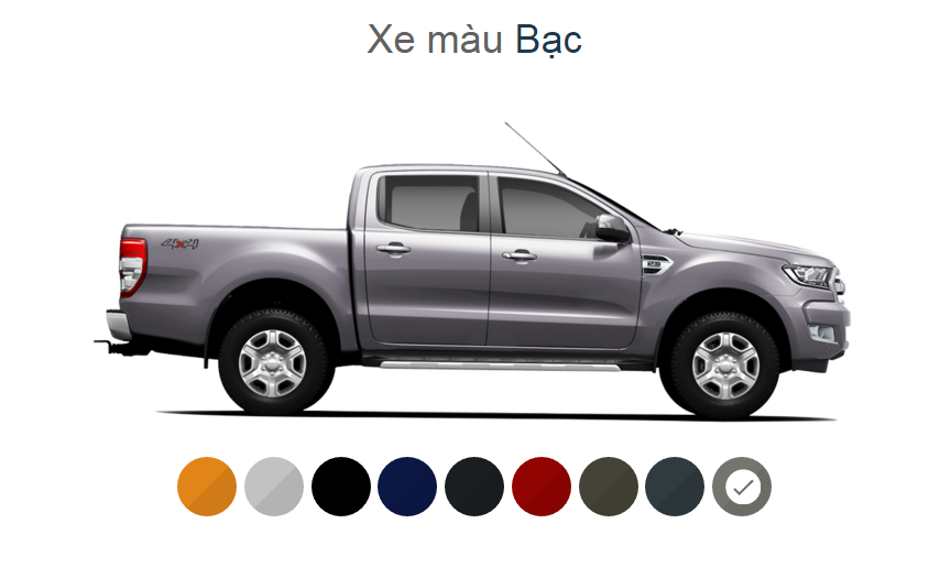 Ford Ranger mới 2.2L 4×2 XLS AT