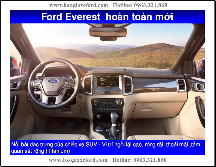Ford Everest 2017 mới – 03 Phiên Bản