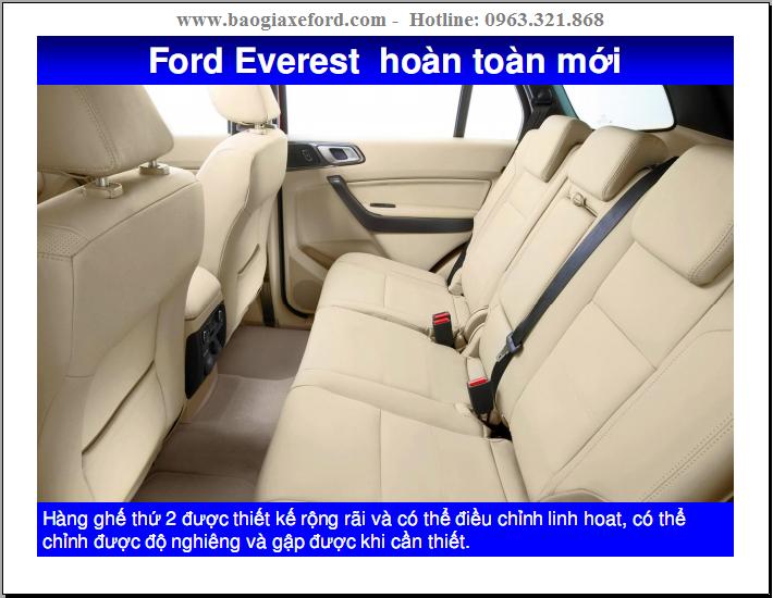 Ford Everest 2018 mới – 03 Phiên Bản