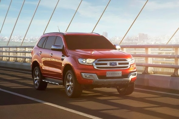 ford everest mới