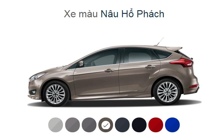 Ford Focus 2018 mới – 04 phiên bản