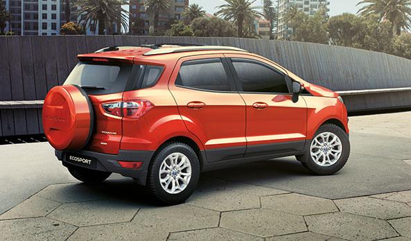 đuôi xe Ford ecosport