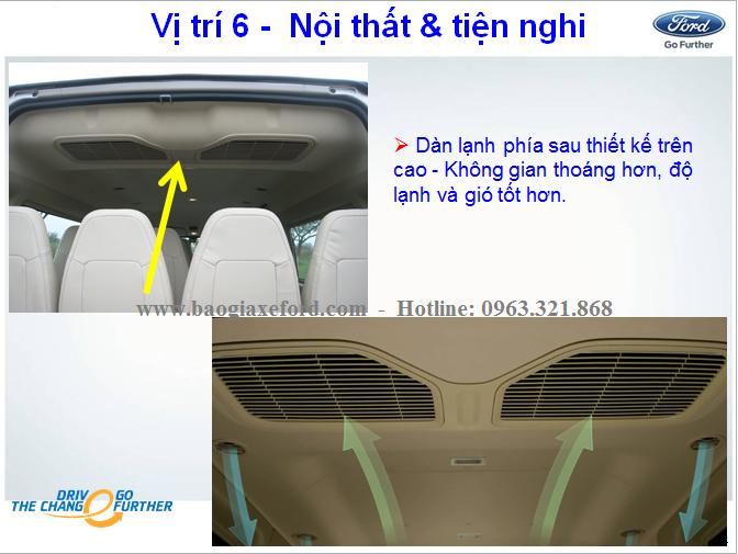 """Ford Transit LX 16s """"Bản SVP"""""""