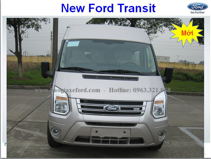 Ford Transit 2019 mới- 03 phiên bản