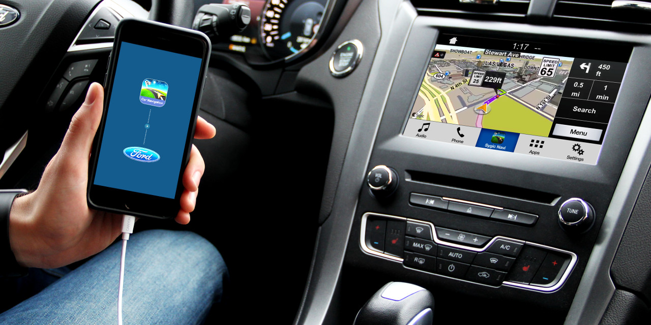 Ford-SYNC-3-Sygic-navigation-integration