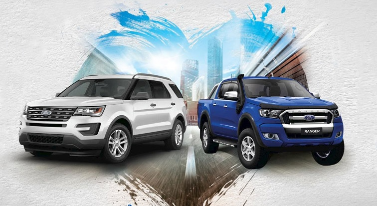 Ford Ranger- Ford Explorer