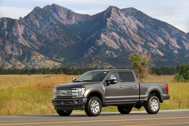 2017 F-Series Super Duty Media Drive in Colorado