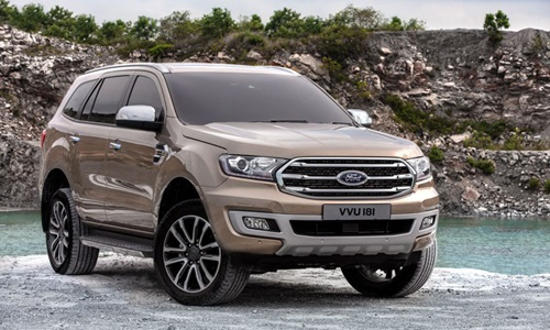 Ford Everest 2018 moi