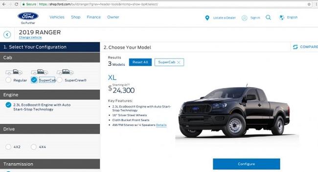 Ford Ranger 2019 1