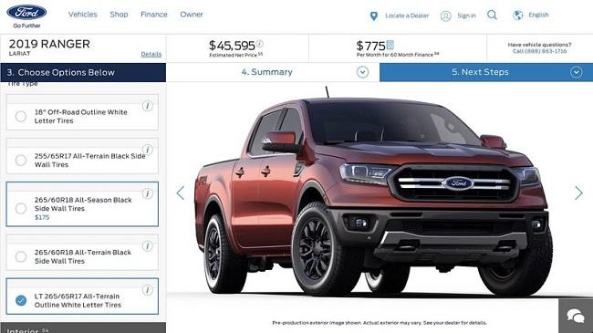 Ford Ranger 2019 7