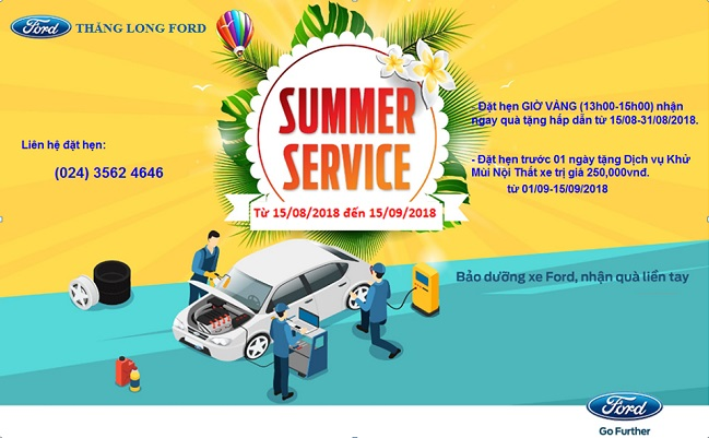 Thang Long Ford Summer Service