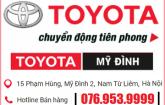 Hotline Toyota My Dinh
